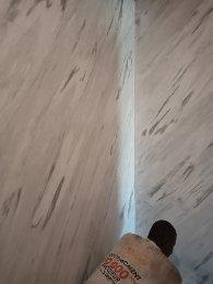 Peinture décorative : effet marbre